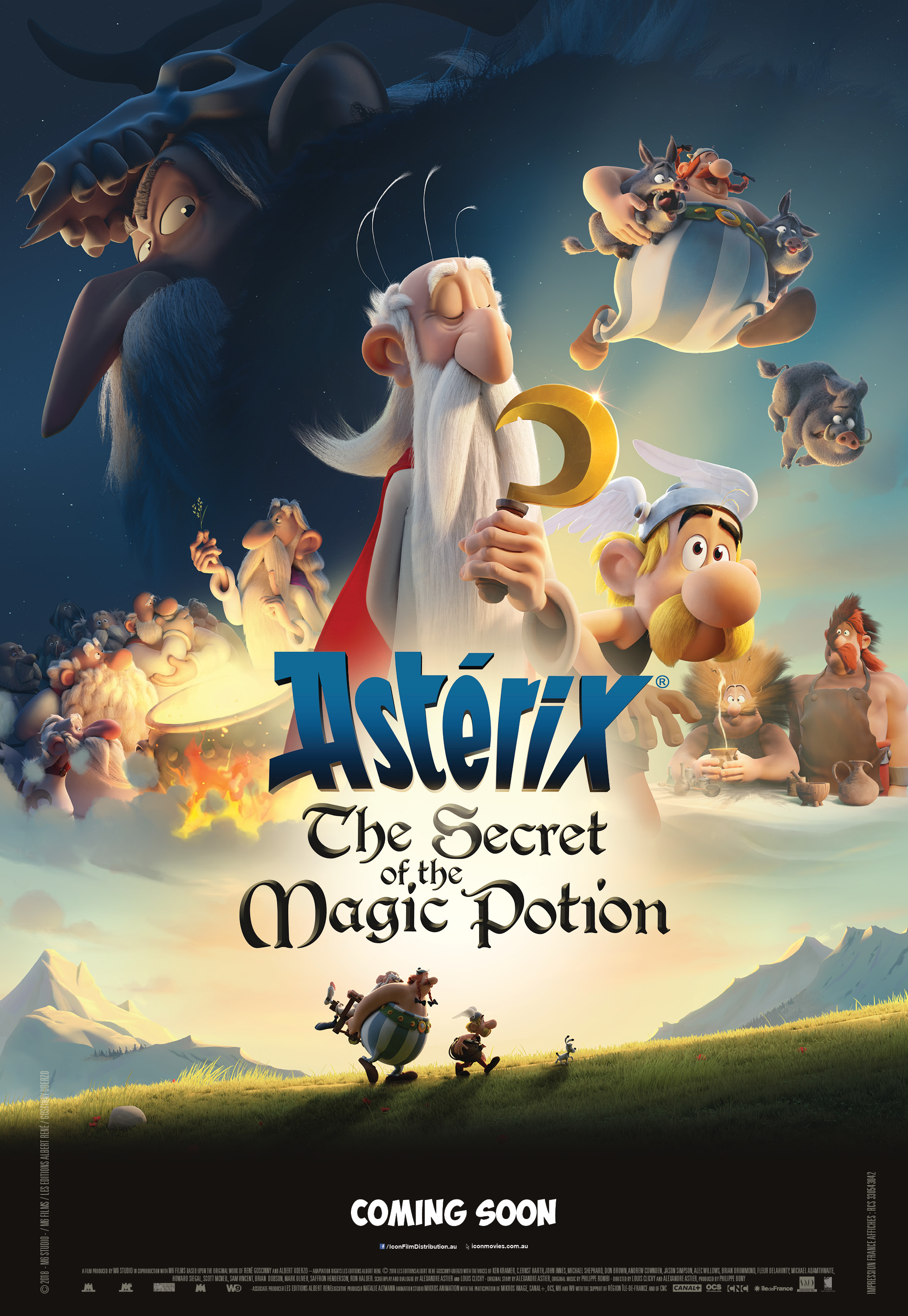Asterix: The Secret of the Magic Potion